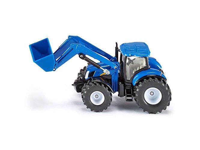 New holland t traktor mit frontlader bruder in baden