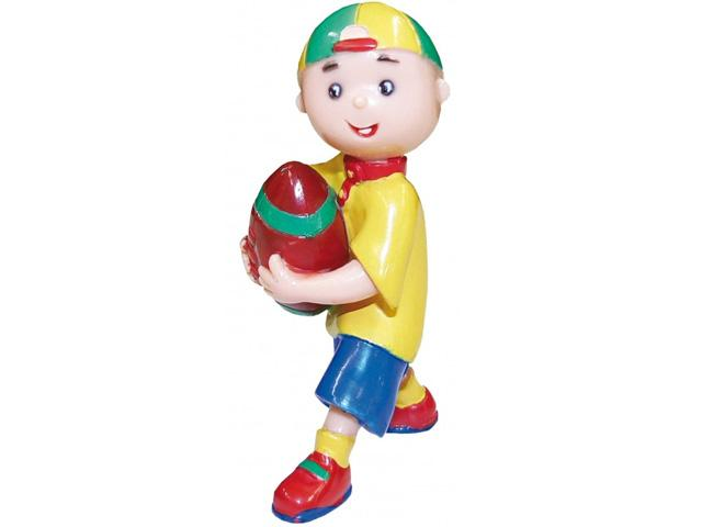 Caillou Minifigur Caillou Rugby 7 cm