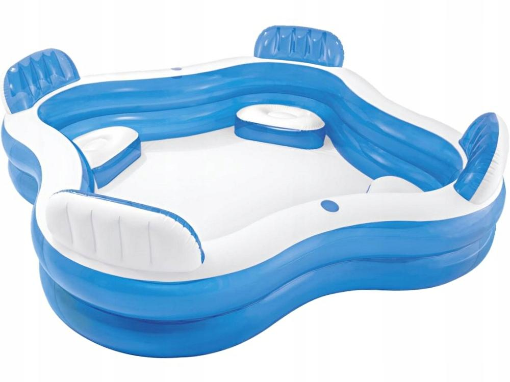 Swim Centerfamily Lounge Pool Mit 4 Sitzecken 3p 229 X 229 X 66